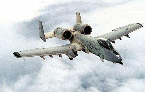 Американский штурмовик A10 Thunderbolt 2