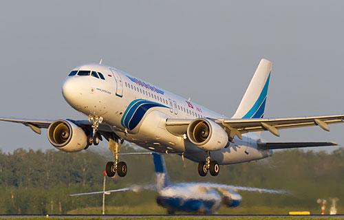 "Airbus A-320 авиакомпании ""Ямал"""