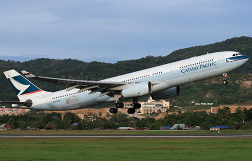 Airbus A-330 авиакомпании Cathay Pacific