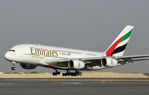 Airbus A-380 авиакомпании Emirates
