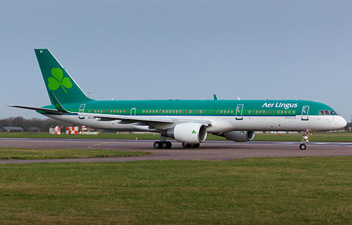 Boeing-757 ирландской авиакомпании Aer Lingus