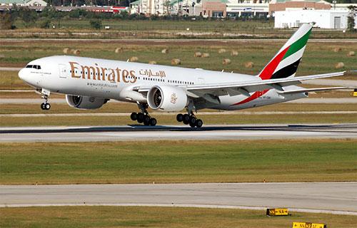 Boeing-777 авиакомпании Emirates
