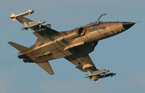 Американский военный самолет F-5 Tiger