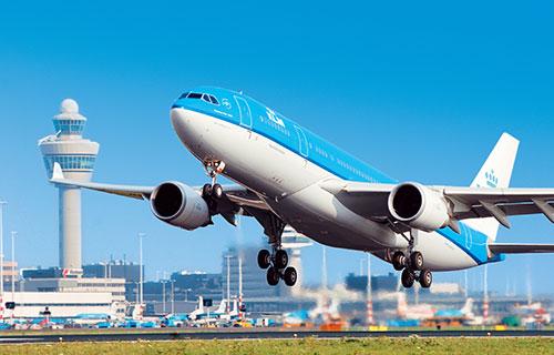 Самолет компании KLM