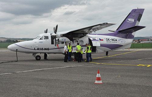 Чешский самолет для региональных авиакомпаний Let 410 NG