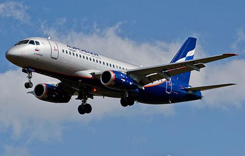 "Sukhoi Superjet 100 авиакомпании ""Аэрофлот"""