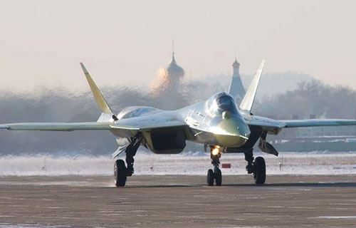 Новейший российский истребитель Т-50