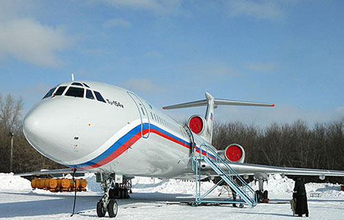 Реактивный пассажирский самолёт Ту-154М