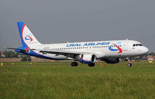 """Airbus A-319 авиакомпании """"Уральские Авиалинии"""""""