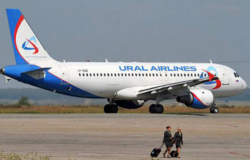 """Airbus A-321 авиакомпании """"Уральские Авиалинии"""""""