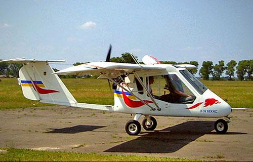 Легкомоторный самолет Бекас Х-32
