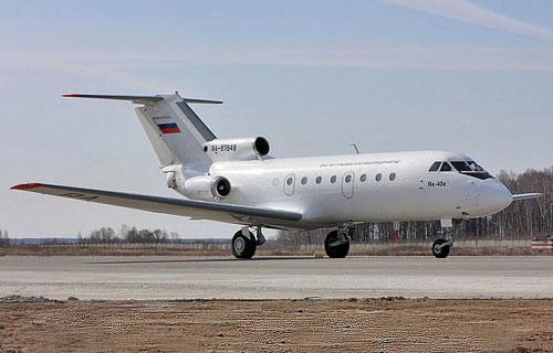 Пассажирский самолет Як-40